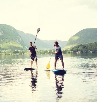 SUP Guided Tour Bohinj, Triglav National Park, Slovenia #5e935771-9649-481f-8aad-91211aec58fa