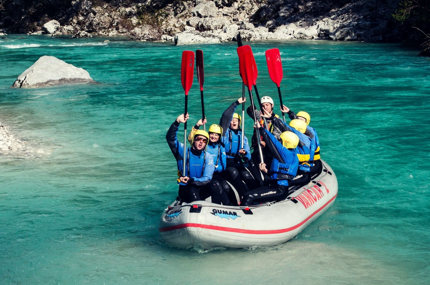 Family Rafting in Bovec Bovec, Triglav National Park, Slovenia #0a9443d8-ba77-4afa-83b5-6836be396ae1