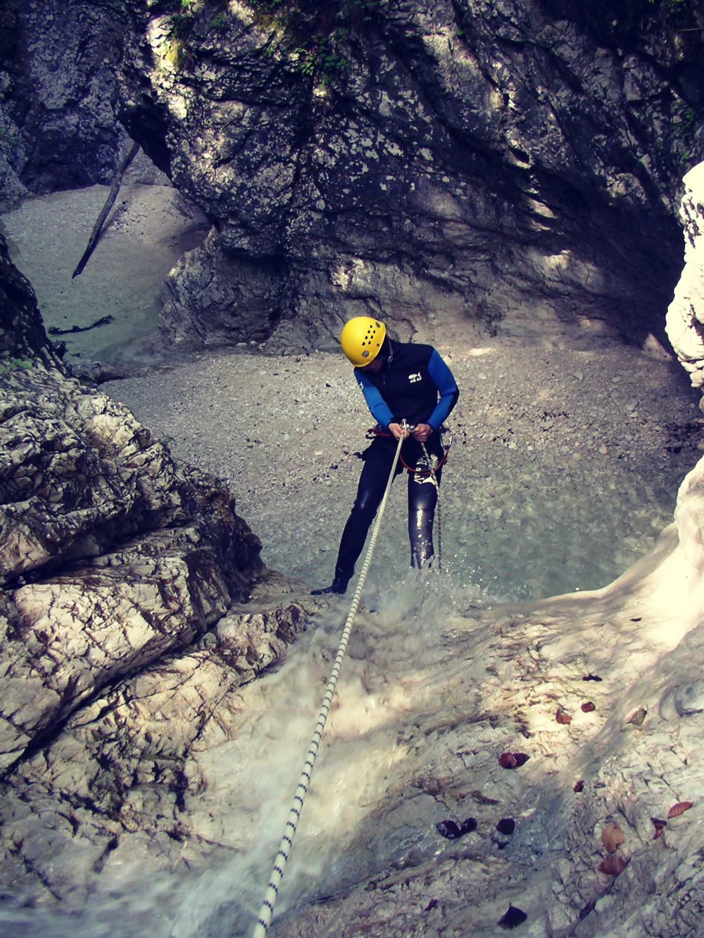 Canyoning Fratarica Slowenien