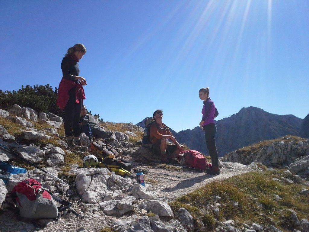 Guided group climb of Mount Triglav in Slovenia  Mount Triglav, Slovenia #81b3b56f-3511-4f4a-b2c7-ee464a1f33c7