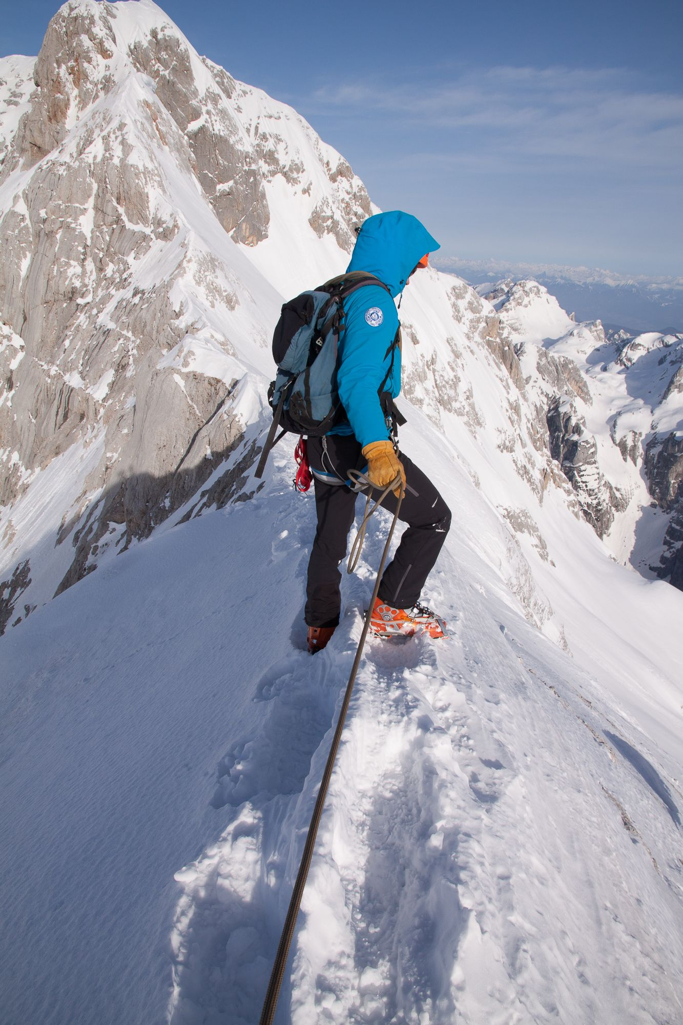Guided Winter Climb in Triglav Mount Triglav, Slovenia #7a7b3624-8a1d-4b80-a28e-d782911859cc