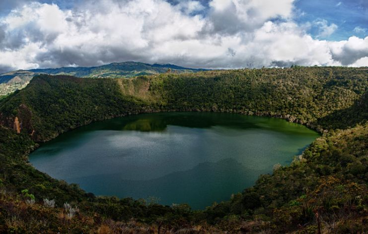 Walk Tour Around Lake Guatavita and Zipaquirá Lake Guatavita, Zipaquirá, Colombia #a34be6e3-8a43-4991-a006-9a4d3a04b25b