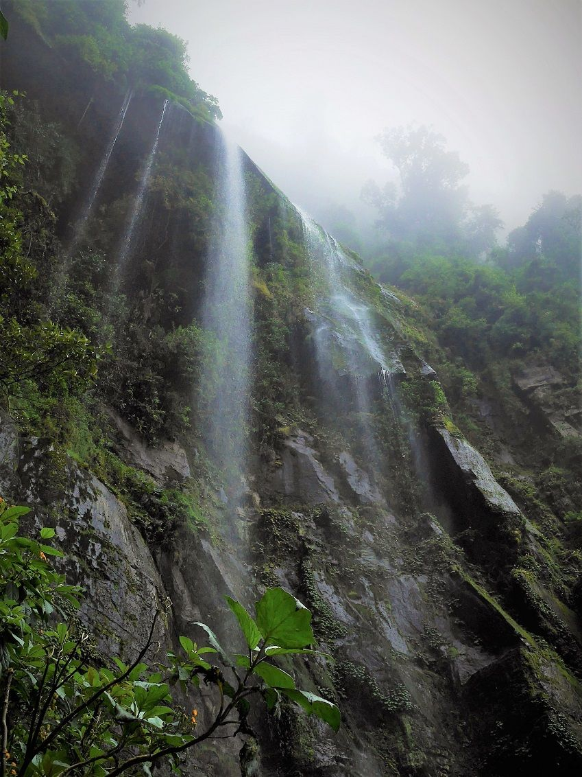 Trekking up to La Chorrera Waterfall Bogotá, Colombia #df6582c1-a767-48da-9124-96d35ac0e34d