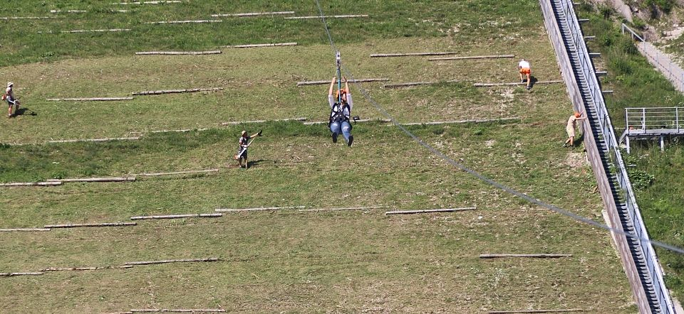 Accessible Zip-Line in Planica- Accessible Travel Planica,Slovenia #55a05abf-57aa-4226-be4c-577790c0f68a