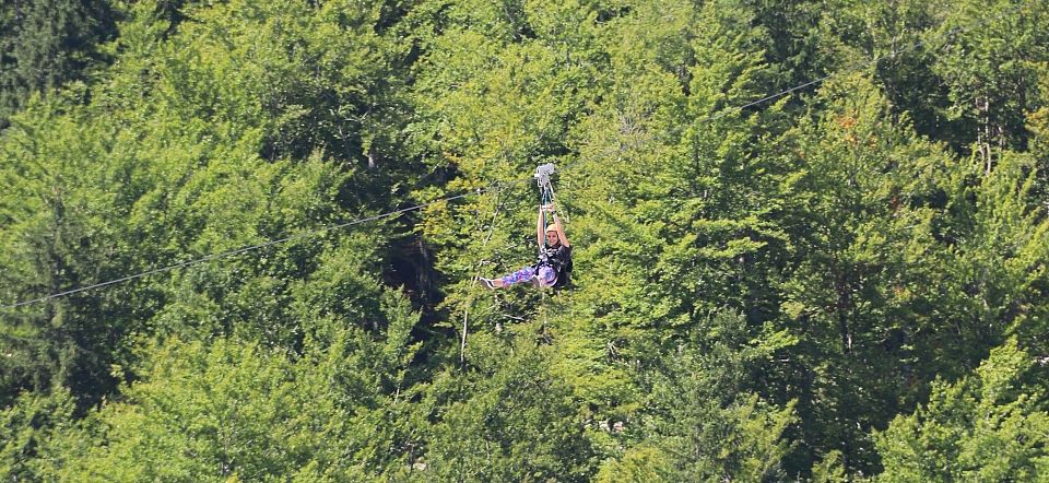 Accessible Zip-Line in Planica- Accessible Travel Bled, Planica, Slovenia
