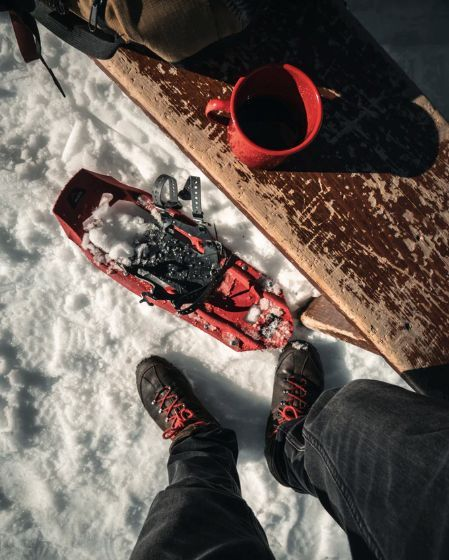 Easy Snowshoeing in Northern Italy Julian Alps, Italy #166a0088-6520-484d-b4f9-abca9f759381