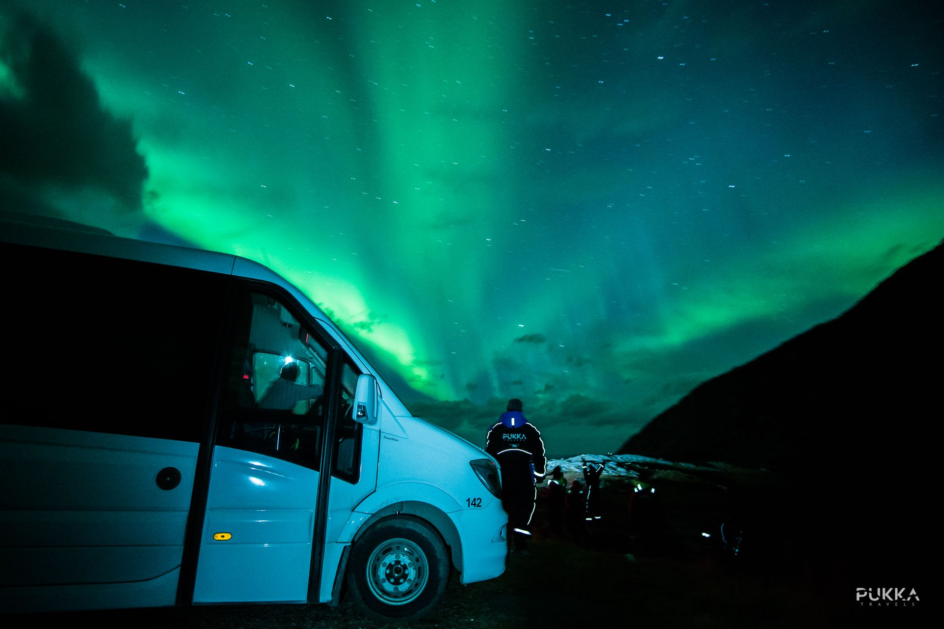 Northern Lights Mini Bus Chase Tromso, Norway #fefa147c-e2e4-4318-ab88-7c6a50ffb260