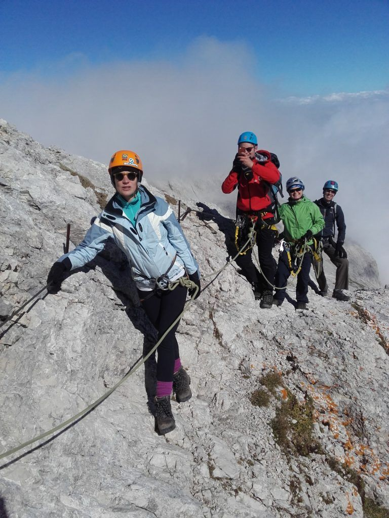 Guided group climb of Mount Triglav in Slovenia  Mount Triglav, Slovenia
