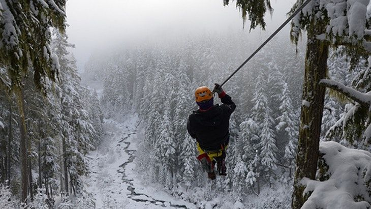 Winter Adventure Zipline in Bled Bled, Dolinka River Valley, Slovenia #968c00a8-ef13-490b-a386-0681e9c29342