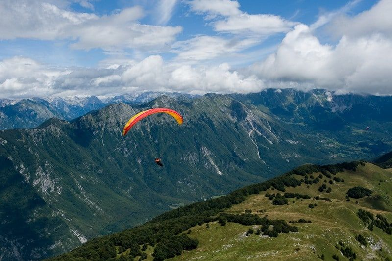 🌈Paragliding From Bled Bled, Triglav NP, Slovenia