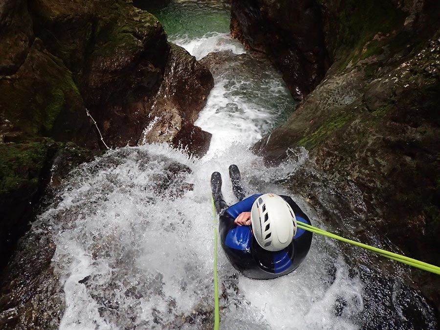📸 Canyoning in Lake Bled with Photos