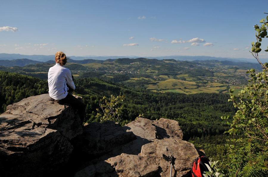 Selmeci-hegység bakancsos túra Szlovákia, Selmecbánya