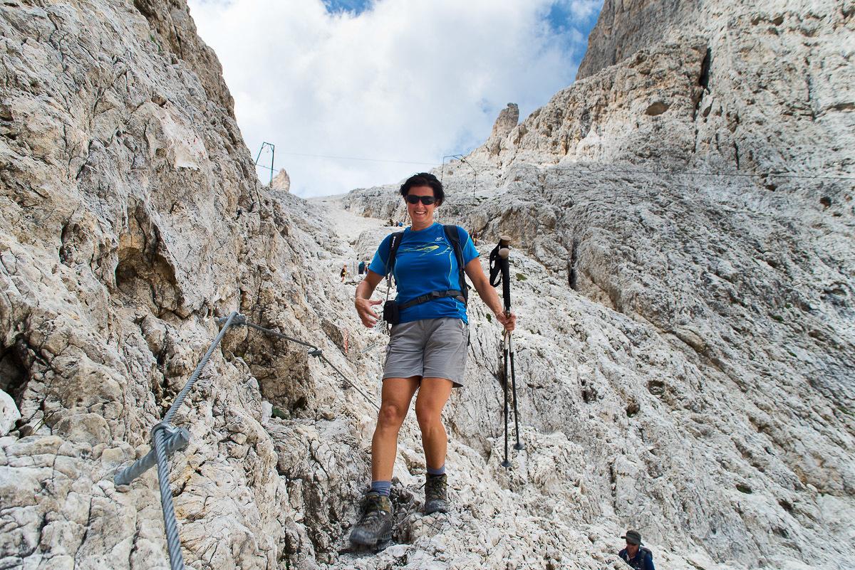 Dolomitok gyalogtúra, Val di Fassa és a Marmolada Nyugati-Dolomitok, Olaszország #2fc19a2d-6788-4d78-bb7d-69d8849de228