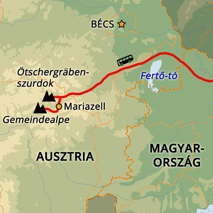 Mariazell és az Ötscher Nemzeti Park Mariazell, Ausztria #mapImageWidget