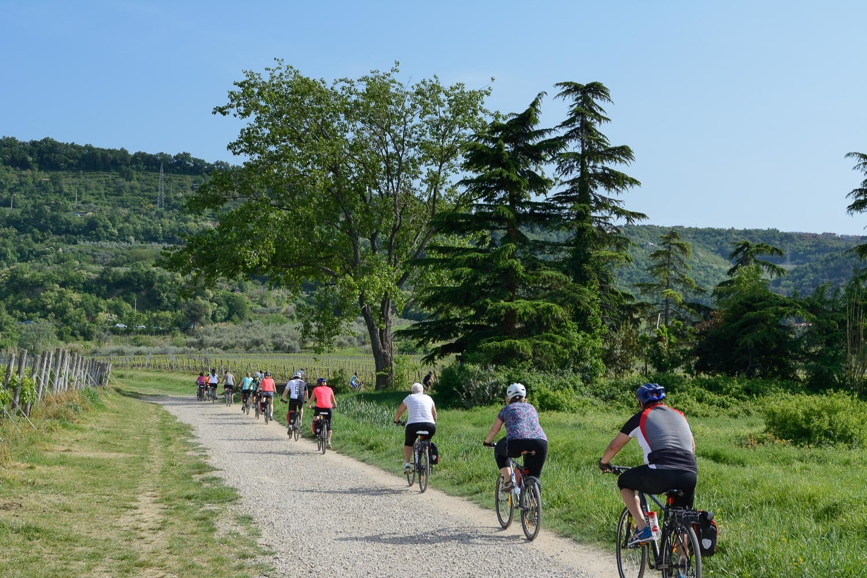 Parenzana kerékpártúra Szlovénia, Olaszország, Horvátország #ac44a707-6bff-4c2e-9170-d1096fb6d392
