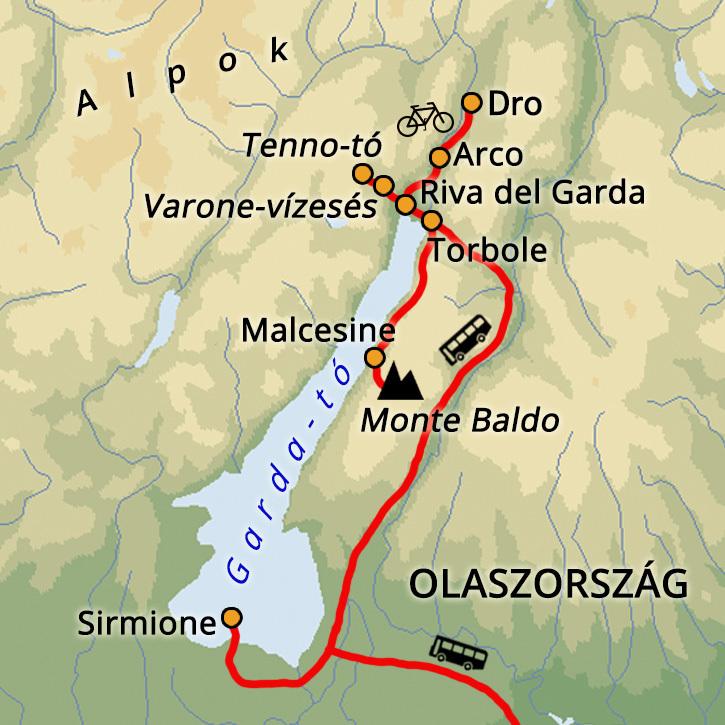 Garda-tavi Kirándulások Garda-tó, Olaszország #638d39fb-c347-41a1-81d3-8f368842860f
