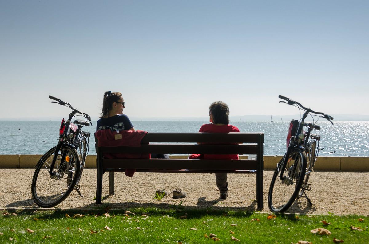 Kerékpártúra a Balaton körül