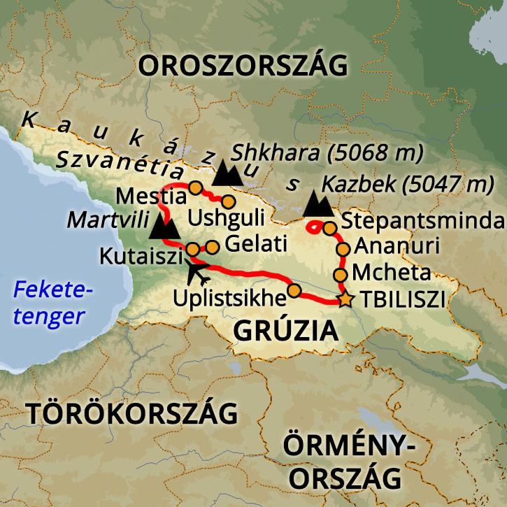 Grúzia Grúzia, Kaukázus #mapImageWidget
