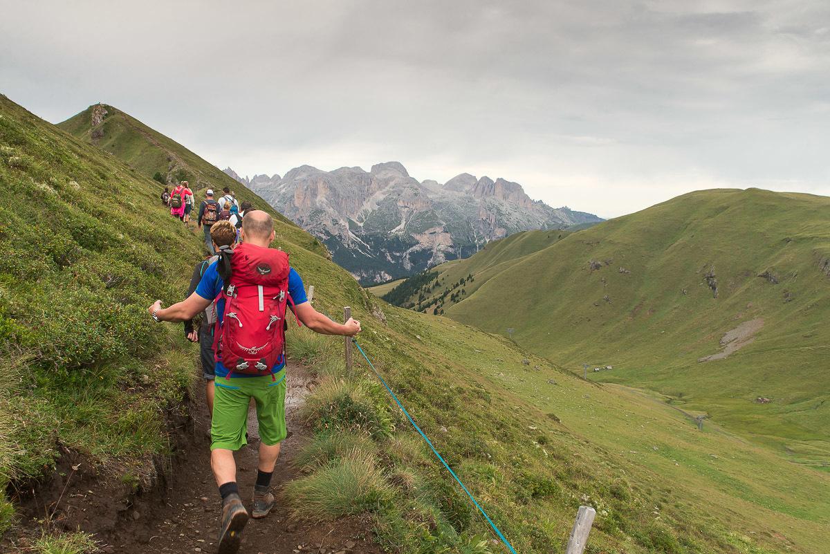 Dolomitok gyalogtúra, Val di Fassa és a Marmolada Nyugati-Dolomitok, Olaszország #7d726be4-8e74-4665-a59e-589c15c20715