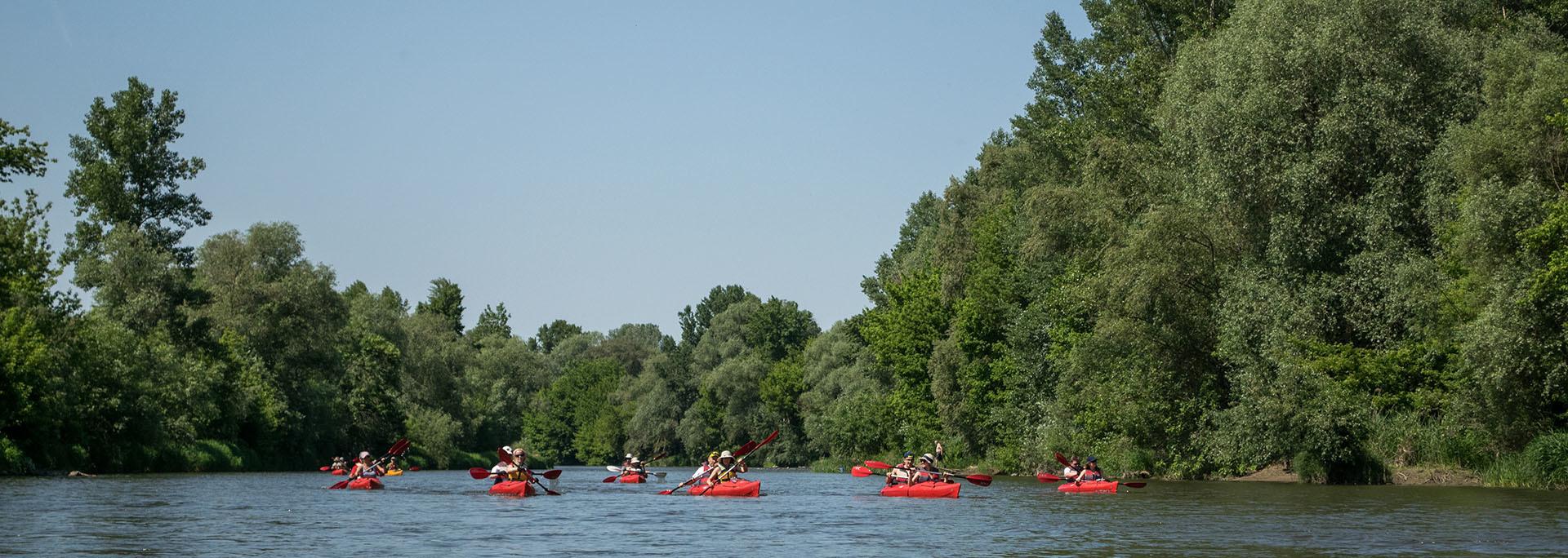 Vízitúra a Garamon Garam folyó, Szlovákia