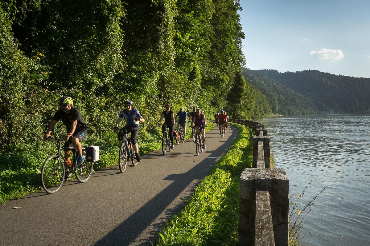 Passau-Bécs Kerékpártúra Wien, Ausztria
