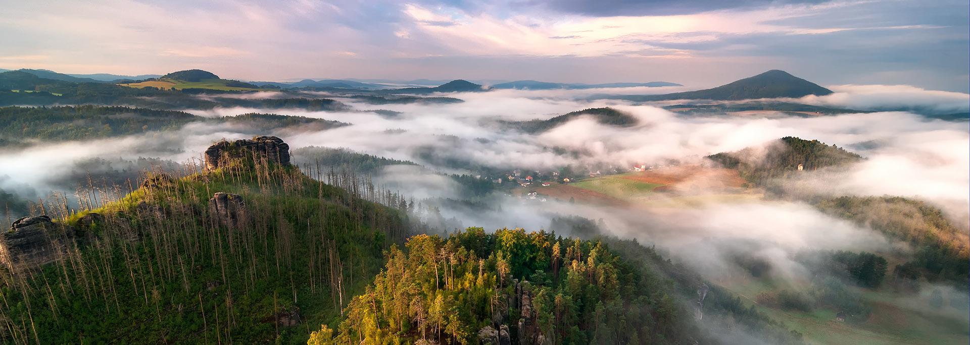 Cseh homokkövek és Szász Svájc Csehország, Szász-Svájc