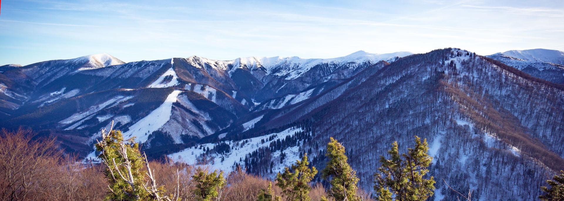 Kis-Fátra téli túra hótalpakkal Szlovákia, Kis-Fátra