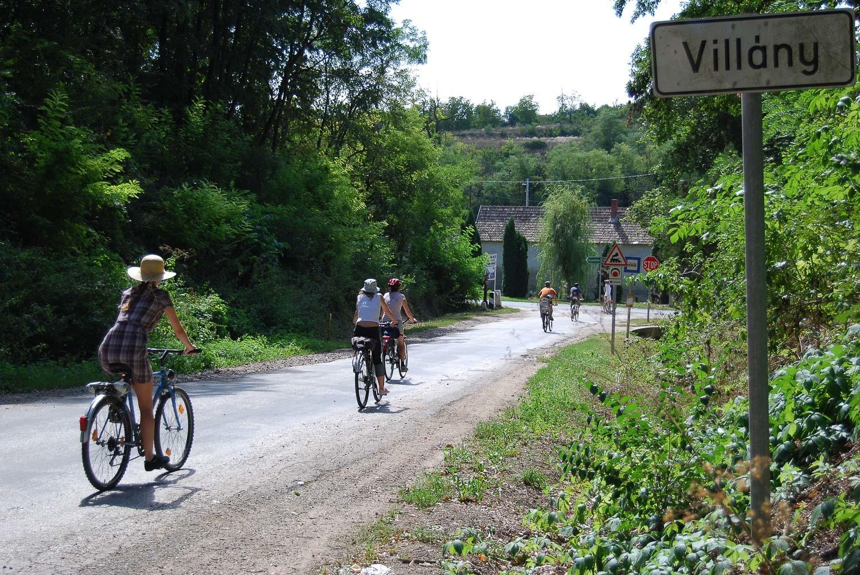 Kerékpártúra a Villányi borvidéken