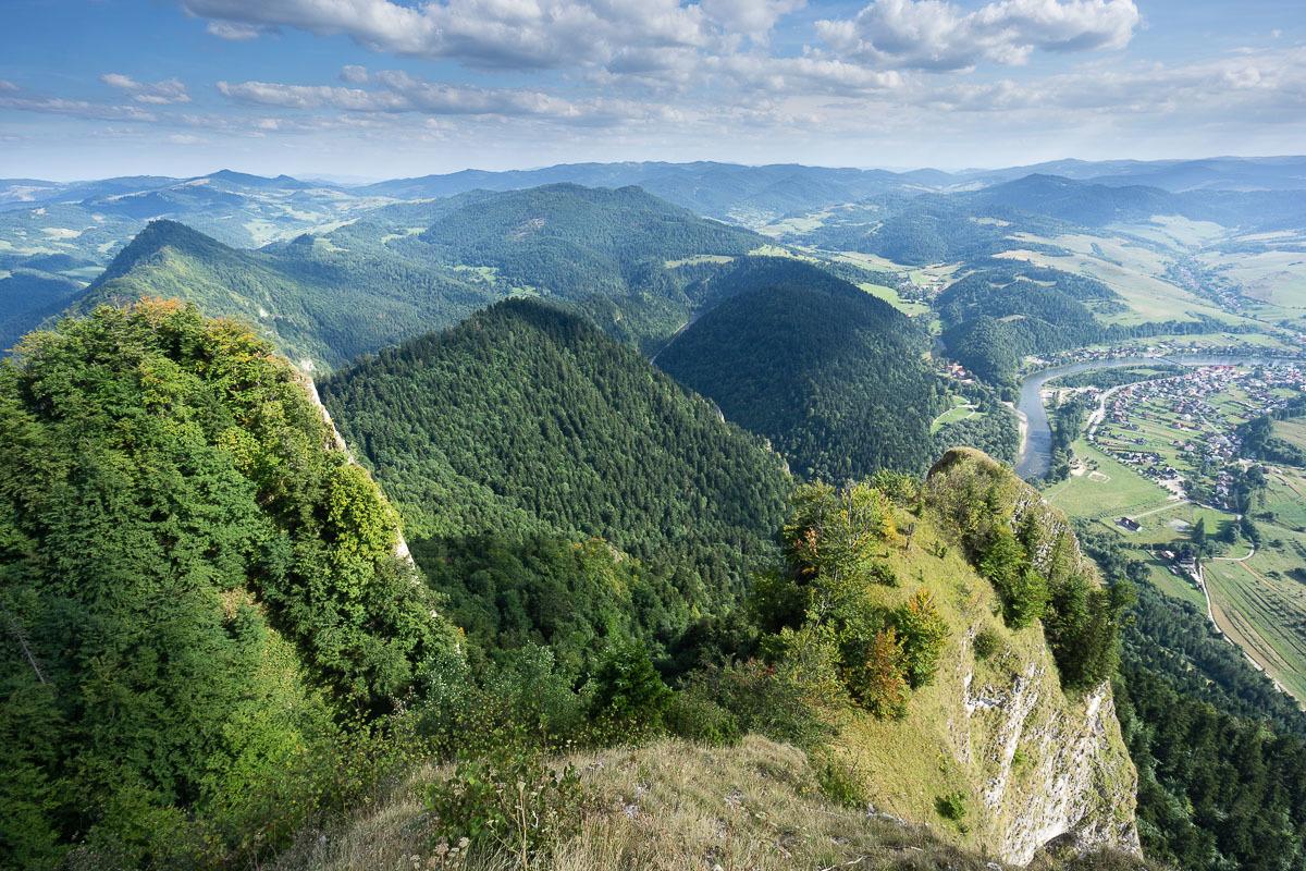 Pieninek, Dunajec és a Lengyel-Tátra