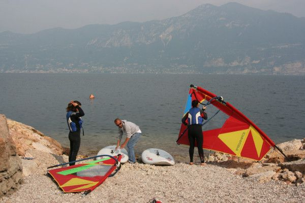 Windsurfing Private Lesson Lake Garda, Italy