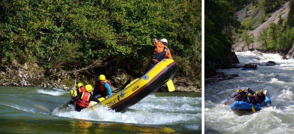 Rafting az Enns folyón Stájerország, Ausztria #3461ff5d-4184-4666-8490-47d010e5ab91