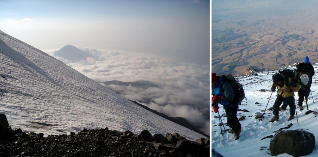 Ararát, a szent hegy - mászás 5136 m-re