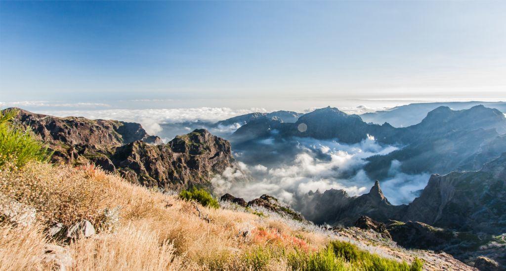 Madeirai levada túra Portugália