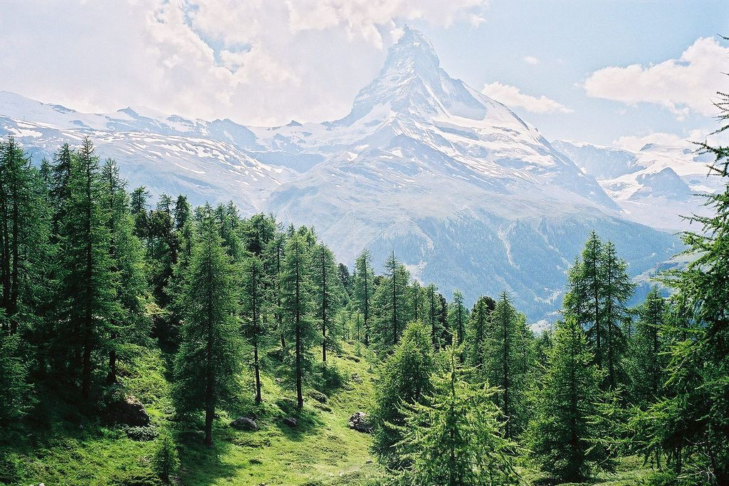 Svájc, Genfi-tótól a Matterhorn lábáig Matterhorn, Genfi-tó, Svájc