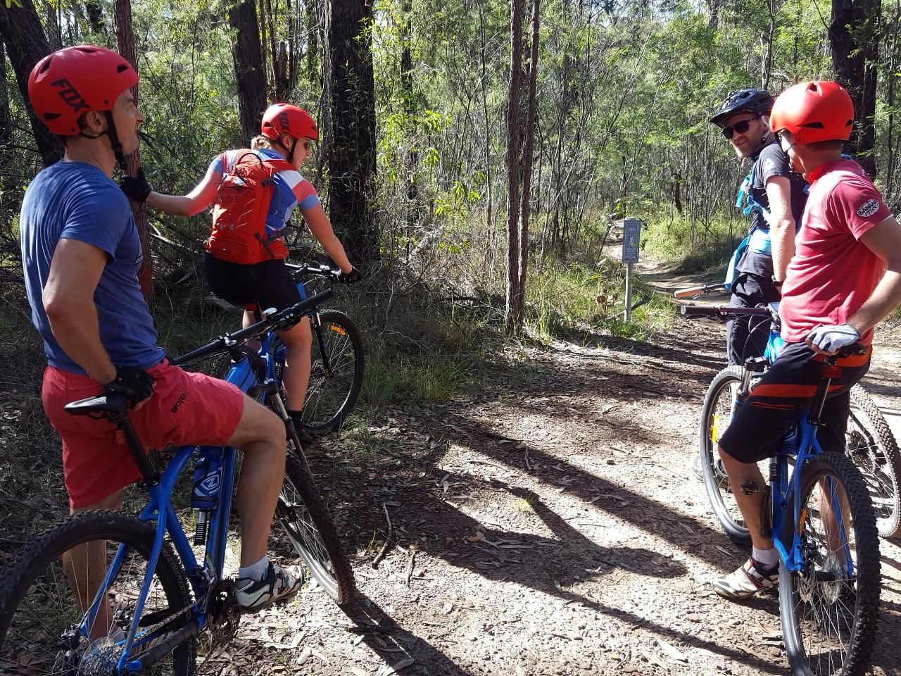 The Oaks Trail - Biking Package (extra) Woodford, Blue Mountains NP, Australia #fb7963e4-c618-4c3a-b813-5ffd7238b0ba