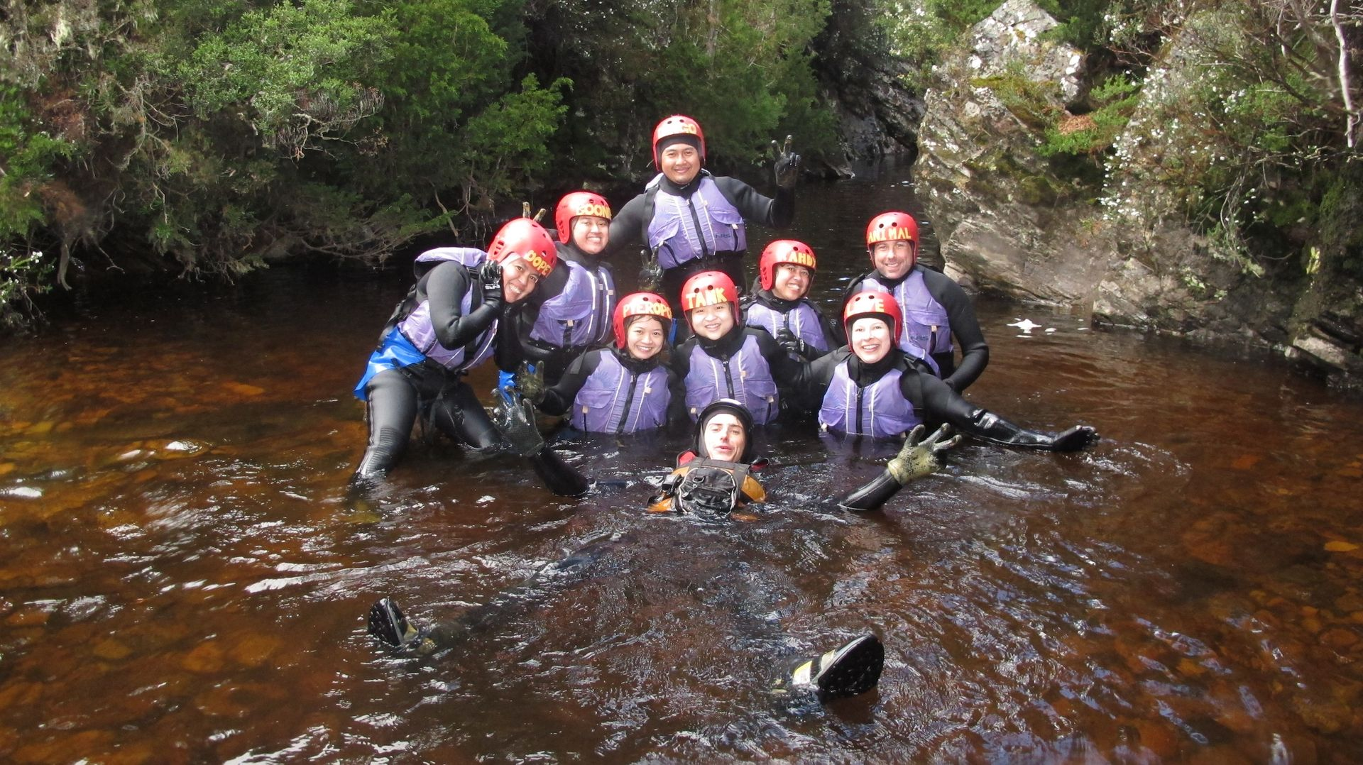 Lost World Family Canyoning - with Kids Cradle Mountain TAS, Australia #34547afd-770b-483e-9d18-f2ef41442cb4