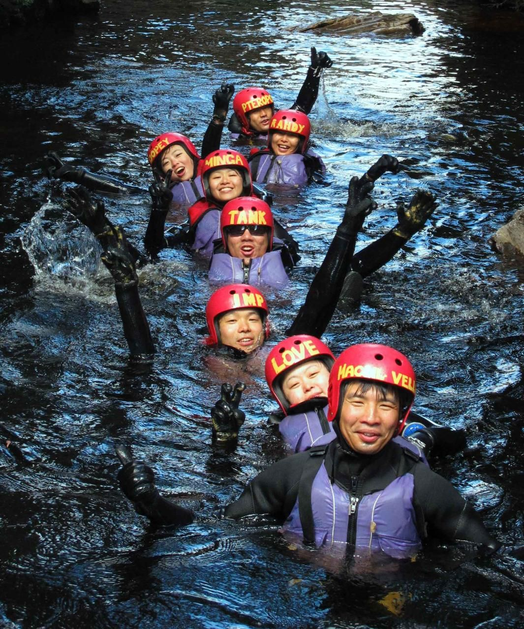 Lost World Family Canyoning - with Kids Cradle Mountain TAS, Australia