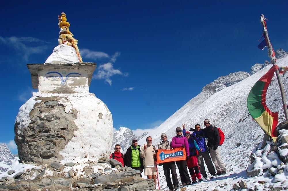5643 m - Everest trekking (Everest alaptábor, Kala Pattar)