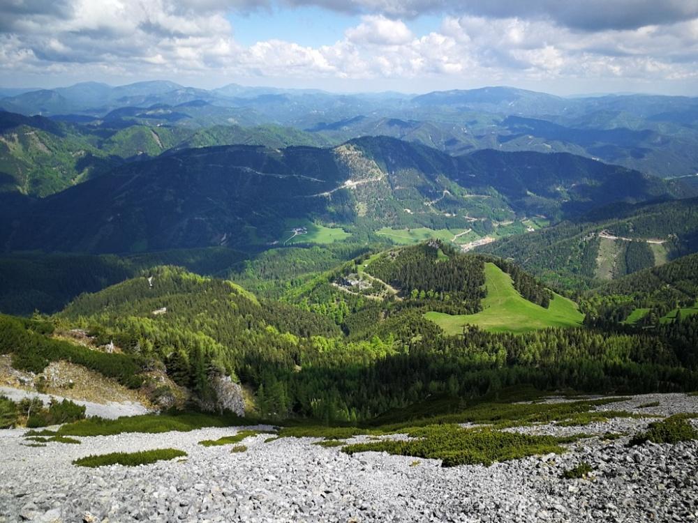 Schneeberg, Klosterwappen (2076 m)