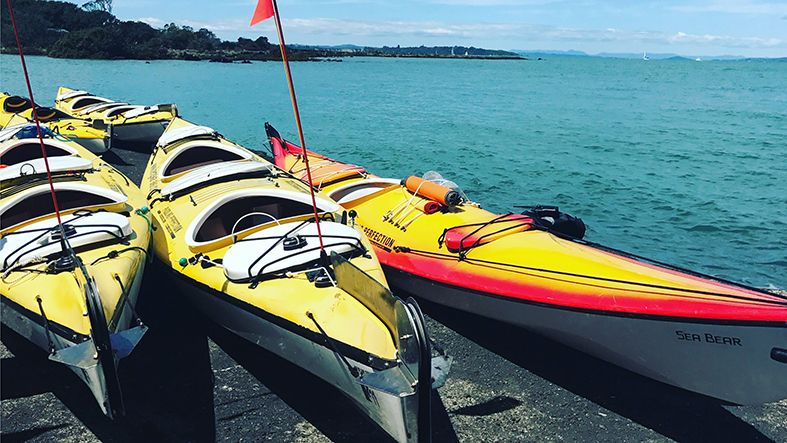 Rangitoto Volcano Sea Kayaking Adventure Tour Orakei, New Zealand