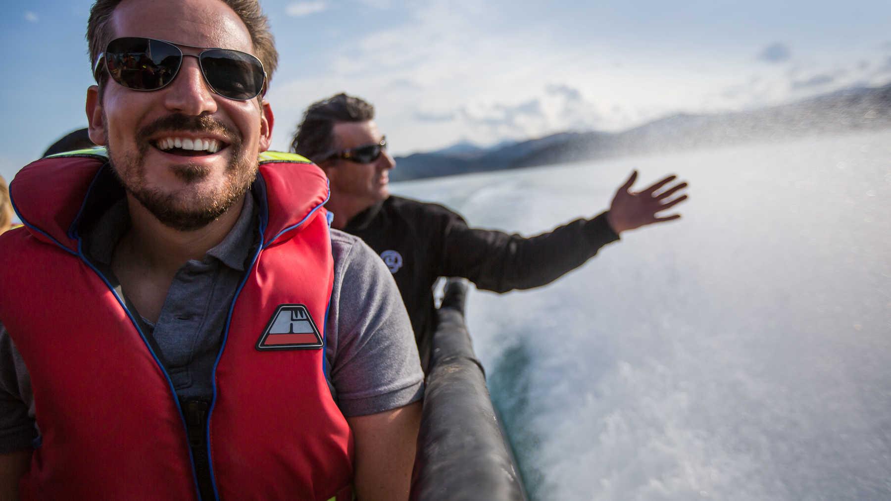 New Zealand–South Island Encompassed New Zealand