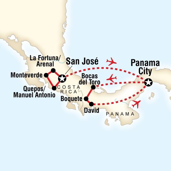[] Costa Rica & Panama Quest Costa Rica & Panama #mapImageWidget