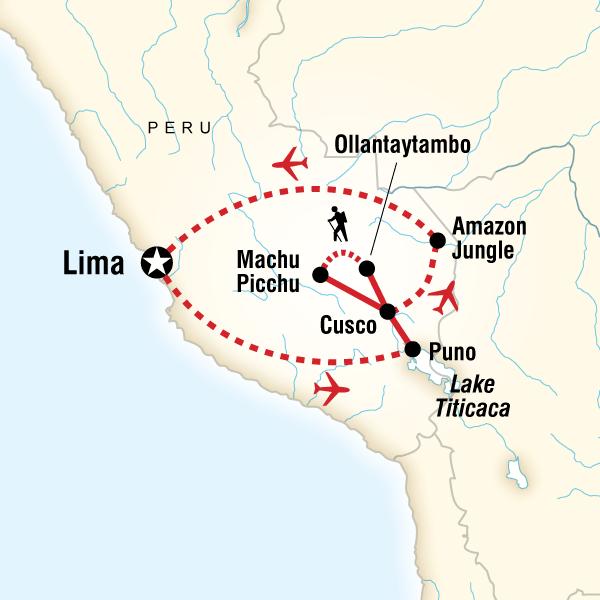 Peru Panorama Machu Picchu, Peru, South America #mapImageWidget