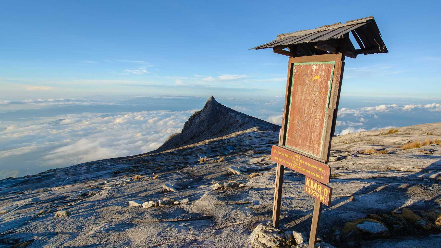 Trek Mt Kinabalu Sabah, Malaysia