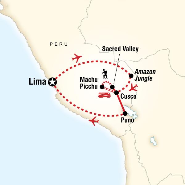 Iconic Peru Lima, Peru #mapImageWidget