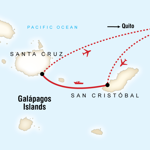 Family Land Galápagos Multi-Activities Santa Cruz island, Galápagos #mapImageWidget