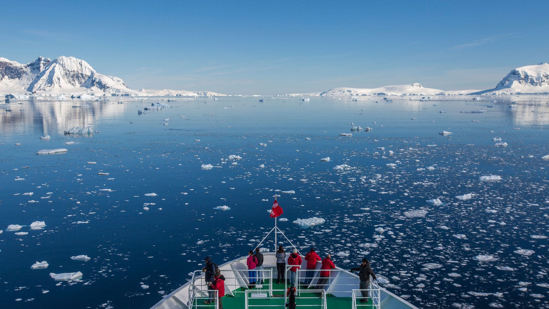 Quest for the Antarctic Circle Antarctica