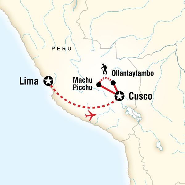 Inca Discovery Lima, Cusco, Peru #mapImageWidget