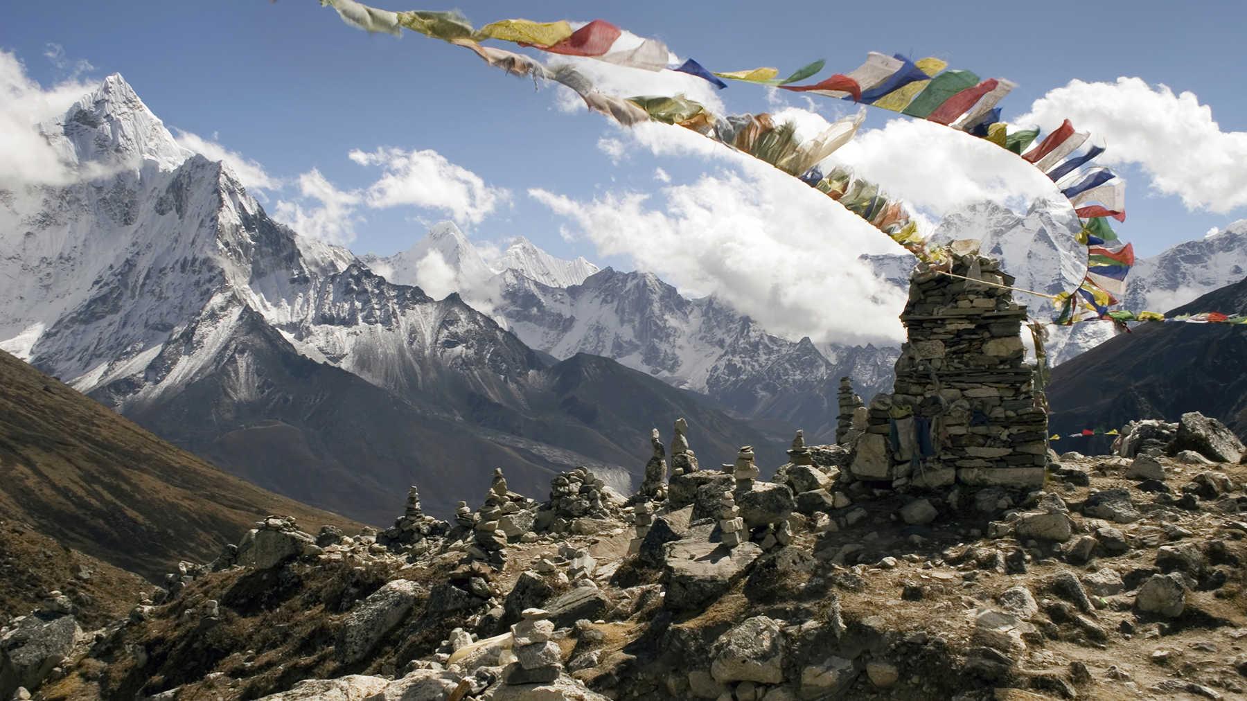 Trekking Langtang Himalayas, Nepal
