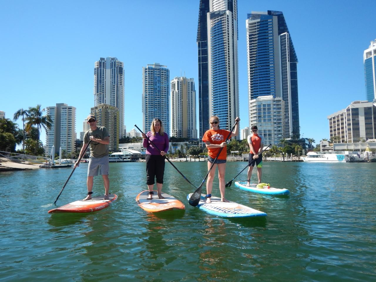 Full Day SUP Hire Surfers Paradise QLD, Australia